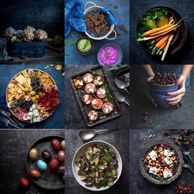 ruokakuvauskursseja